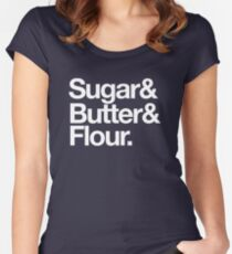 Baking Trinity Women's Fitted Scoop T-Shirt