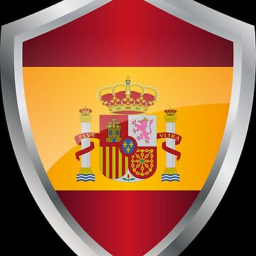Spain flag flag coat of arms by MacOne