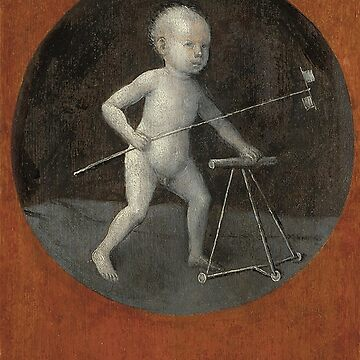 Christ Child with a Walking Frame - Hieronymus Bosch by themasters