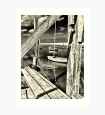Jetty Art Print