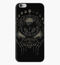 Vinilo o funda para iPhone Black Cat Cult
