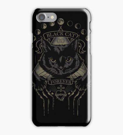 Black Cat Cult iPhone Case/Skin