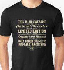 Animal Breeder Funny Job Gift Unisex T-Shirt