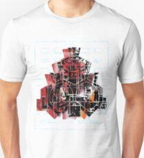 Ziggurat Maze Design Unisex T-Shirt
