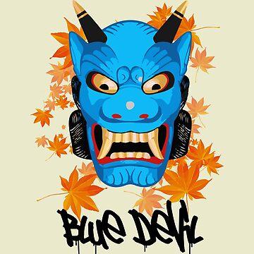 Blue Devil by oxLeinadxo