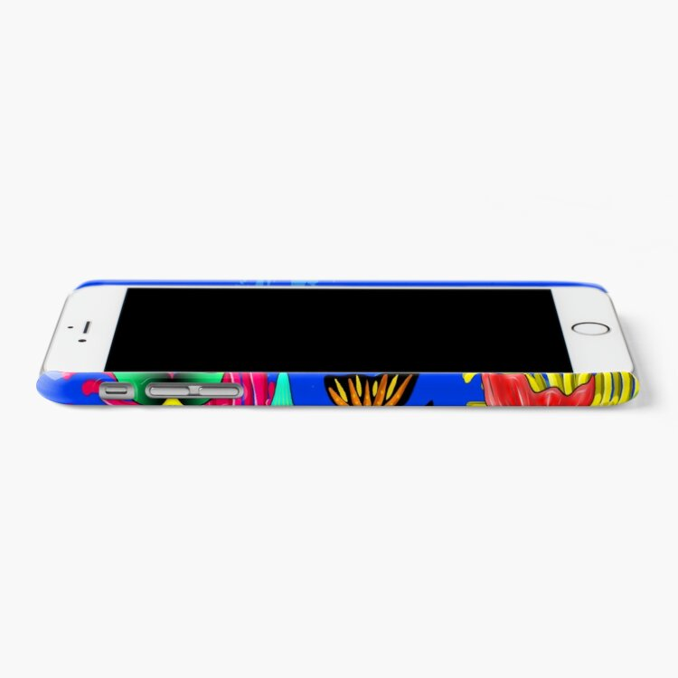 Alternate view of Fish Cute Colorful Doodles  iPhone Case & Cover