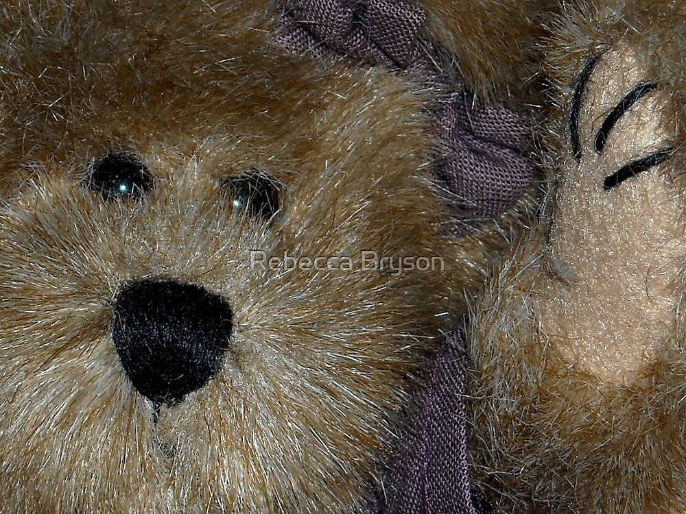 Miss Paige Willoughby Bear by Rebecca Bryson