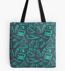 Back To School Theme Doodle Tote Bag