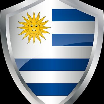 Uruguay flag flag coat of arms by MacOne