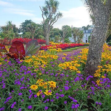 Gardens at Torquay, Devon by trish725