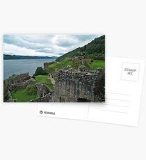 Urqhuart Castle 3 Postcards