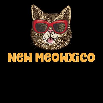 New Meowxico (Mexico) Funny Cat Pun by Jockeybox