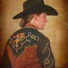 Young Cowgirl by Linda Gregory