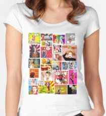Kylie Minogue.....Even MORE POW Wow K30 Women's Fitted Scoop T-Shirt