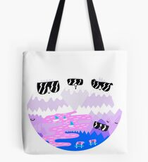 Bad Ass Mountains Tote Bag
