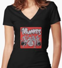 The Mummies Women's Fitted V-Neck T-Shirt