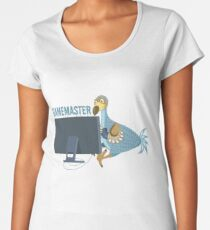 Dodo on PC - Gamemaster Women's Premium T-Shirt