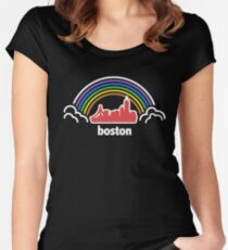 City Pride (Boston, MA) Women's Fitted Scoop T-Shirt