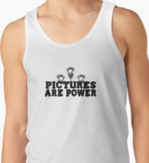 PICTURES ARE POWER Men's Tank Top