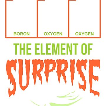 Boo The Element of Surprise by VomHaus