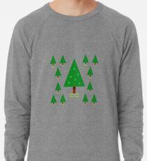 Tannenbäume Leichtes Sweatshirt