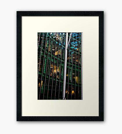 Waffle Office! Framed Print