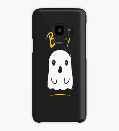 Boo, Cute and Scary Halloween Ghost Case/Skin for Samsung Galaxy