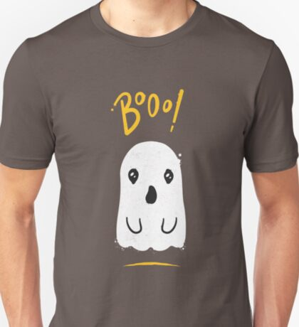 Boo, Cute and Scary Halloween Ghost T-Shirt