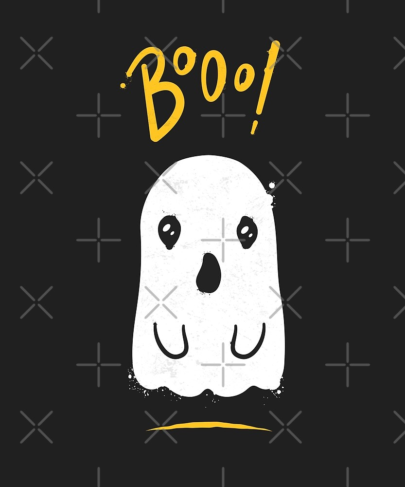 Boo, Cute and Scary Halloween Ghost by zoljo
