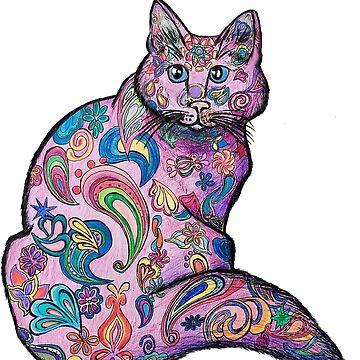Zen Cat by Creatividad