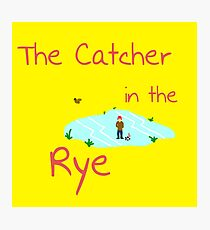 Catcher in the Rye Photographic Print