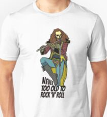 Never Too Old To Rock And Roll - Jethro Tull Unisex T-Shirt