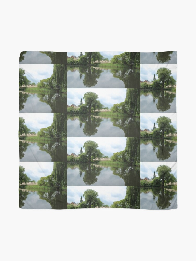 Alternate view of Rural Tranquillity  Scarf