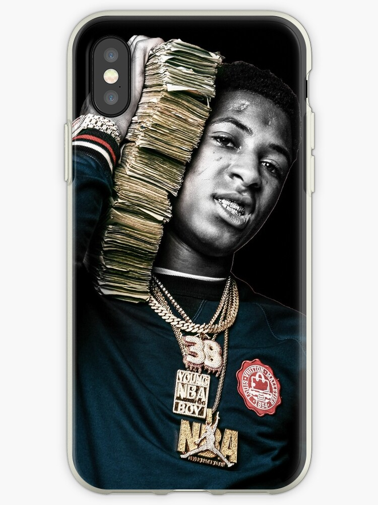 competitive price 9331f 2e4fe 'Youngboy - Never Broke Again Shirt & Merch' iPhone Case by robtaf