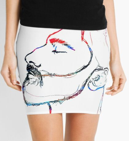 BAANTAL / Hominis / Faces #5 Mini Skirt