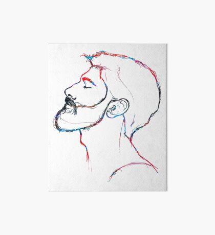 BAANTAL / Hominis / Faces #5 Art Board Print
