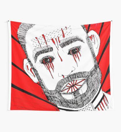 BAANTAL / Hominis / Faces #6 Wall Tapestry