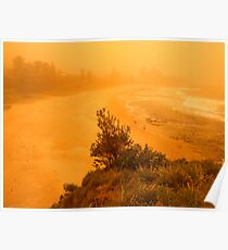 orange morning of the apocalypse again Poster