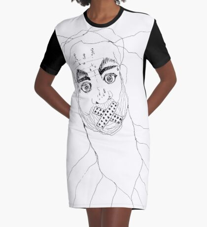 BAANTAL / Hominis / Faces #7 Graphic T-Shirt Dress