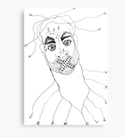 BAANTAL / Hominis / Faces #7 Metal Print