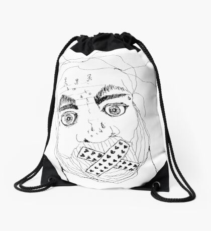 BAANTAL / Hominis / Faces #7 Drawstring Bag