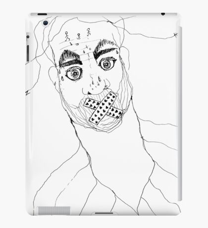BAANTAL / Hominis / Faces #7 iPad Case/Skin