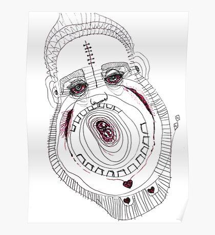 BAANTAL / Hominis / Faces #8 Poster
