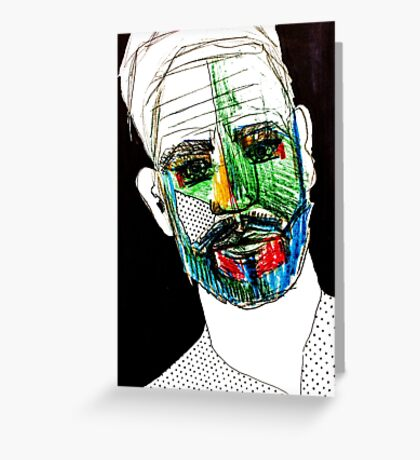 BAANTAL / Hominis / Faces #9 Greeting Card