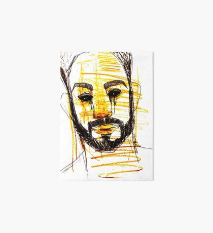 BAANTAL / Hominis / Faces #10 Art Board Print