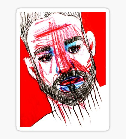BAANTAL / Hominis / Faces #11 Sticker