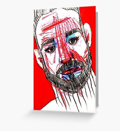 BAANTAL / Hominis / Faces #11 Greeting Card