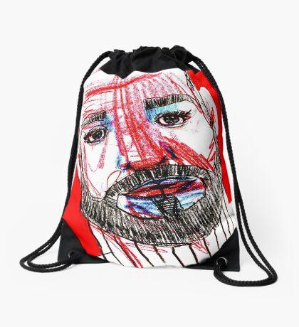BAANTAL / Hominis / Faces #11 Drawstring Bag