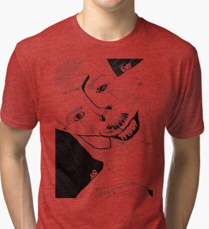 BAANTAL / Hominis ! Faces #12 Tri-blend T-Shirt