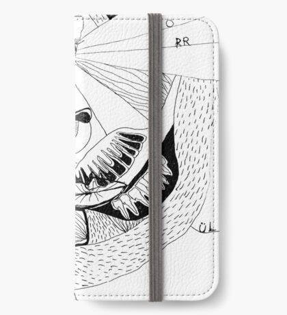 BAANTAL / Hominis ! Faces #12 iPhone Wallet